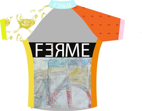 FARM TEAM jersey design featuring Velo March detail